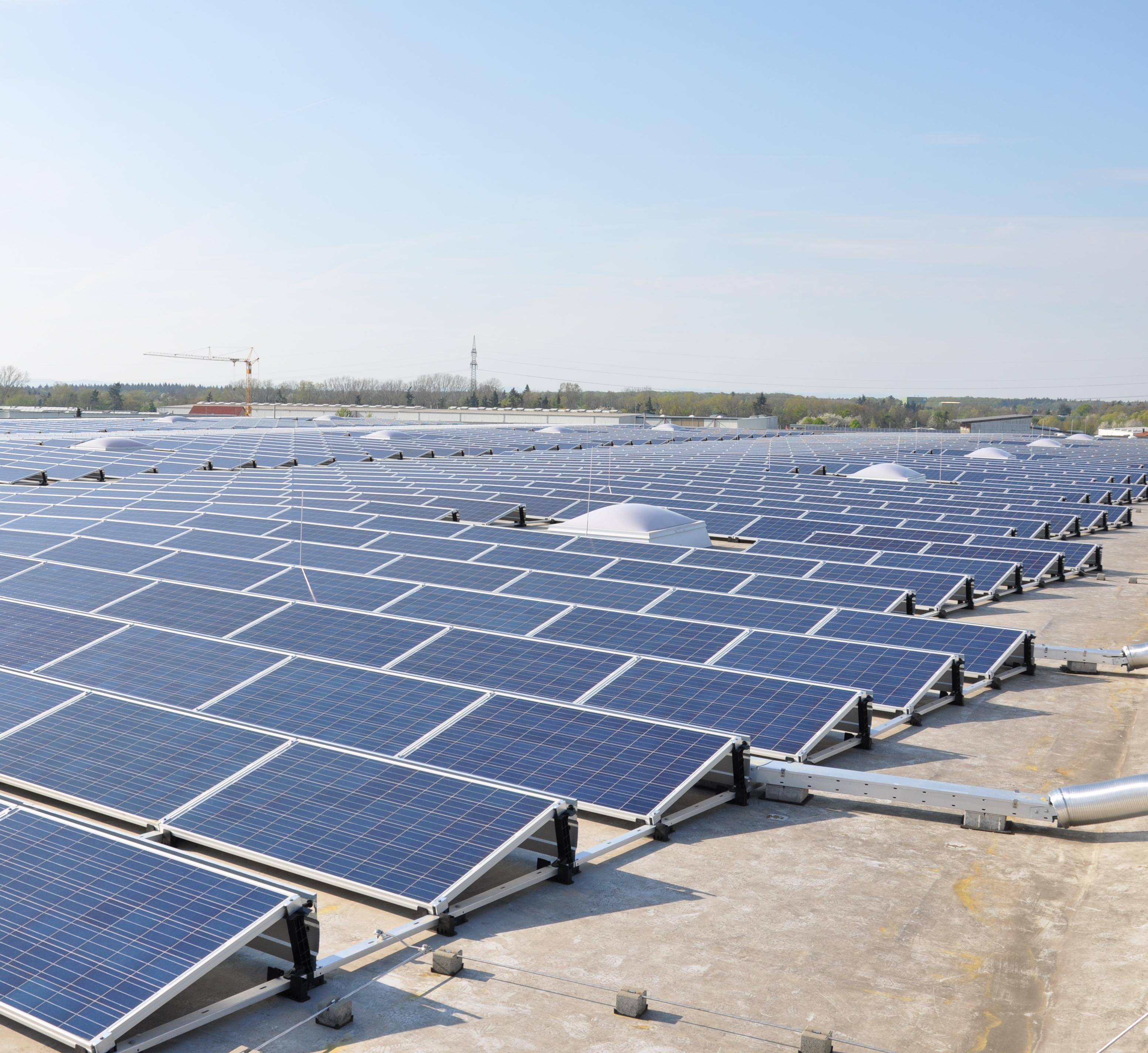 Aufdach-Solaranlagen